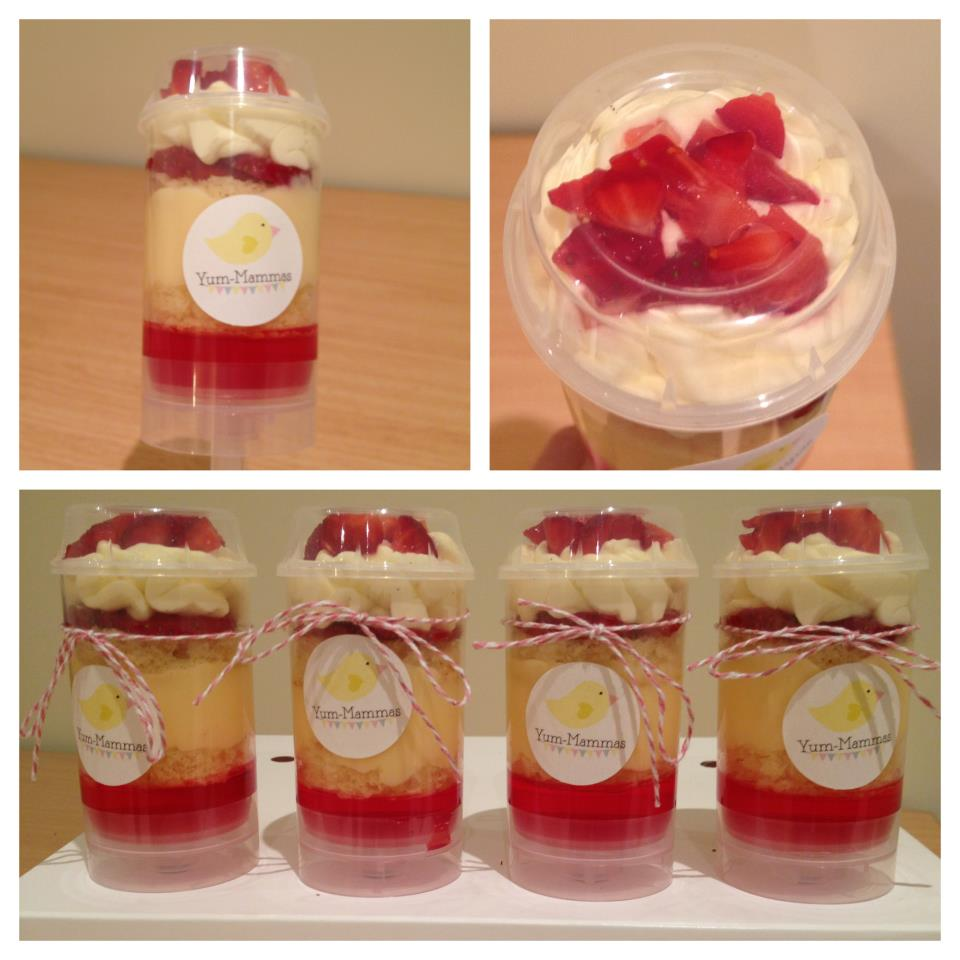 Strawberries 'n' Cream Trifle Recipes — Dishmaps